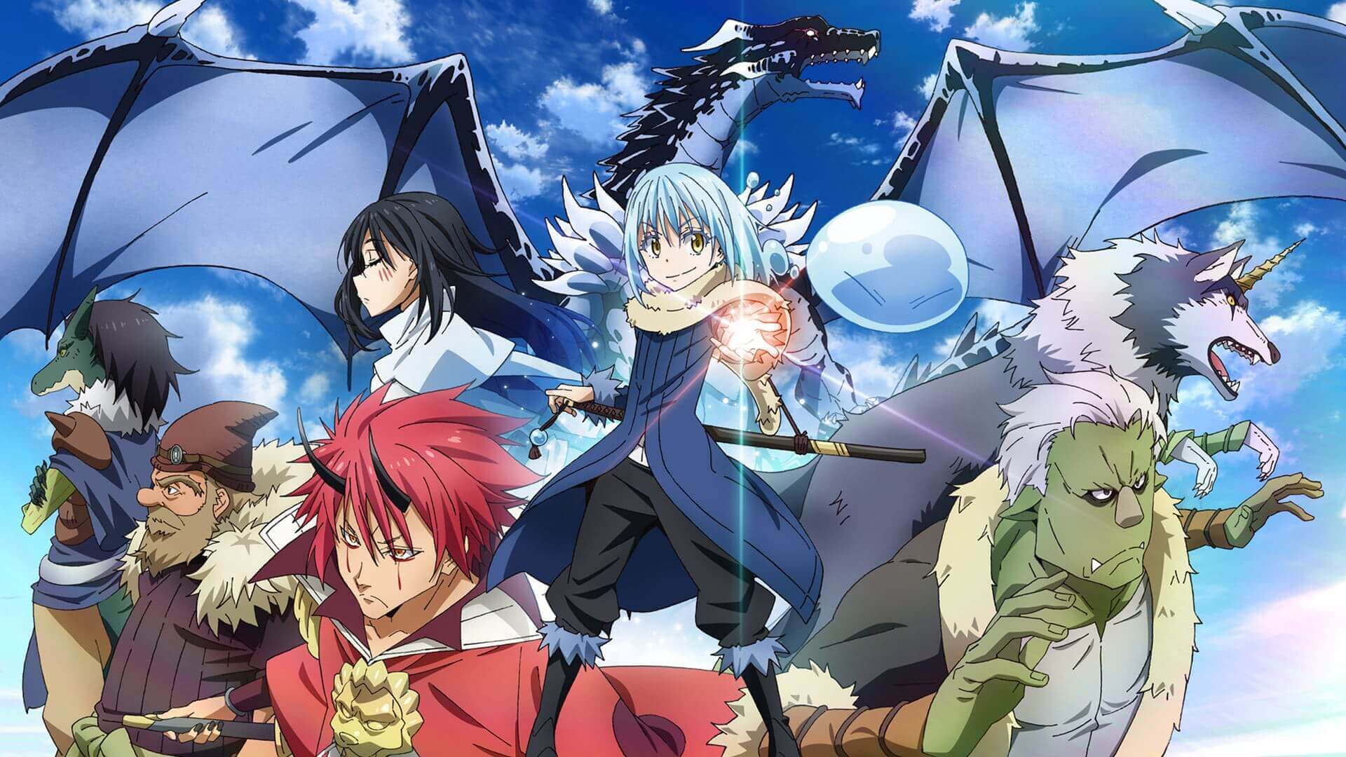 Anime Tensei Shitara Slime datta ken desktop background