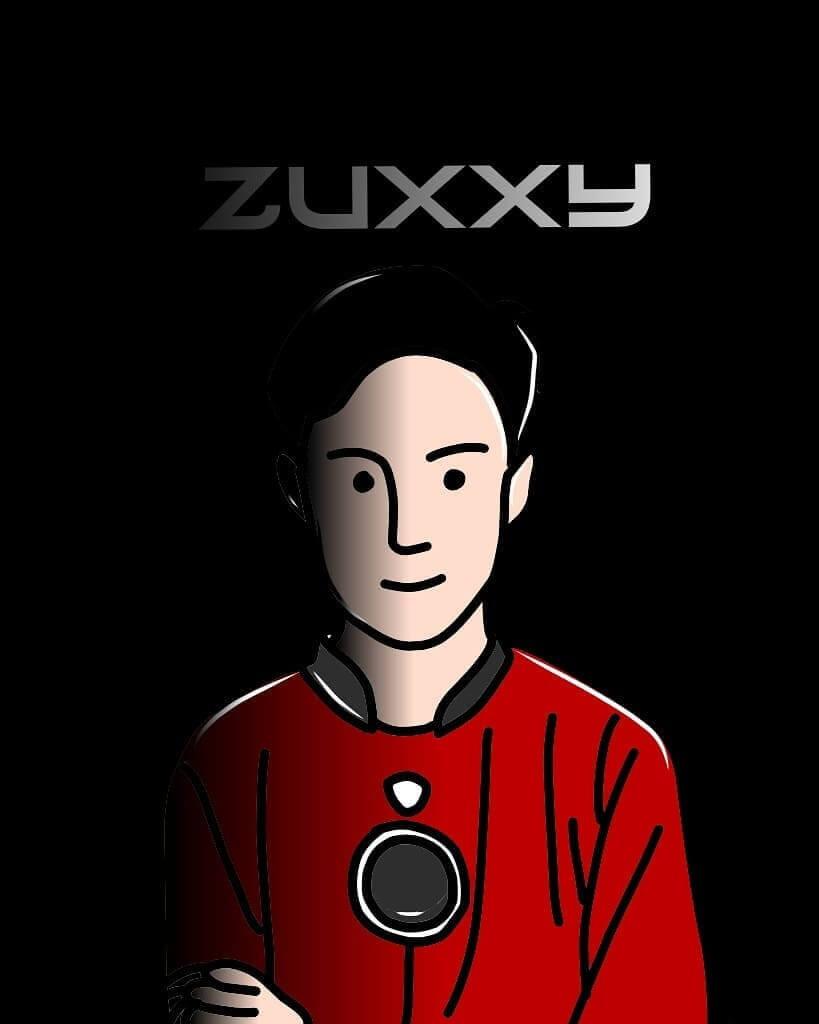BTR Zuxxy cartoon art