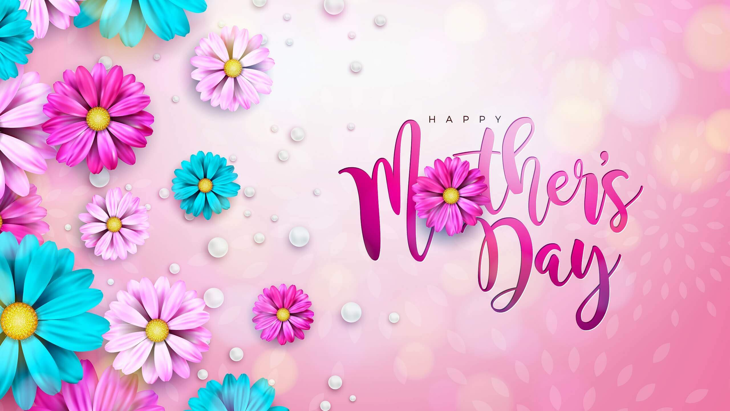 Beautiful Happy Mothers Day HD Wallpaper