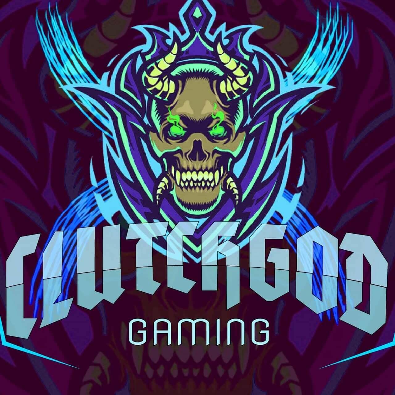 Clutchgod logo pubg game