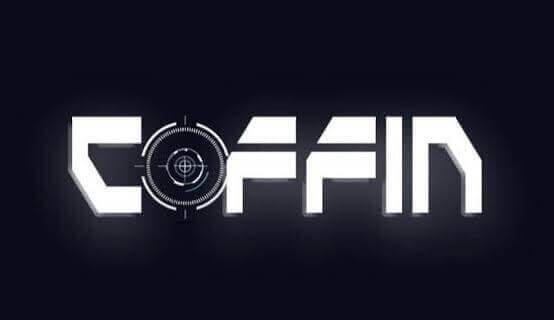 Coffin pubg player logo