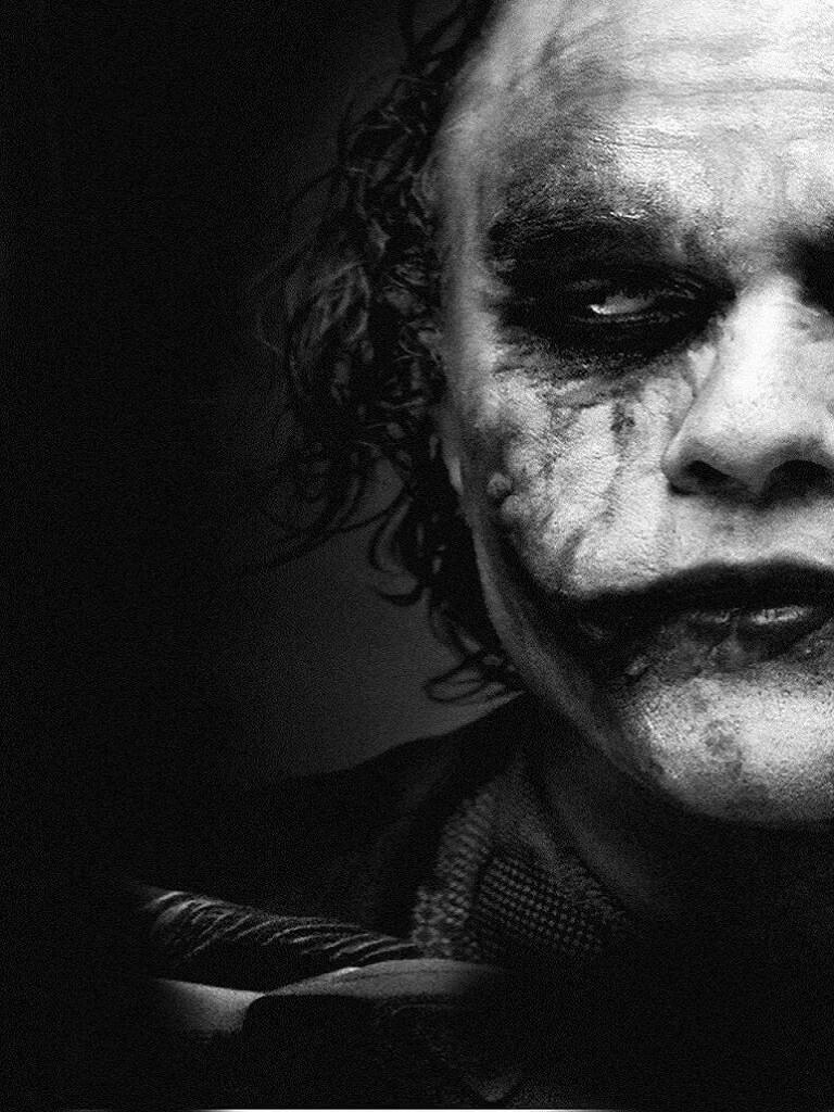 Cool Joker close up wallpaper iPhone