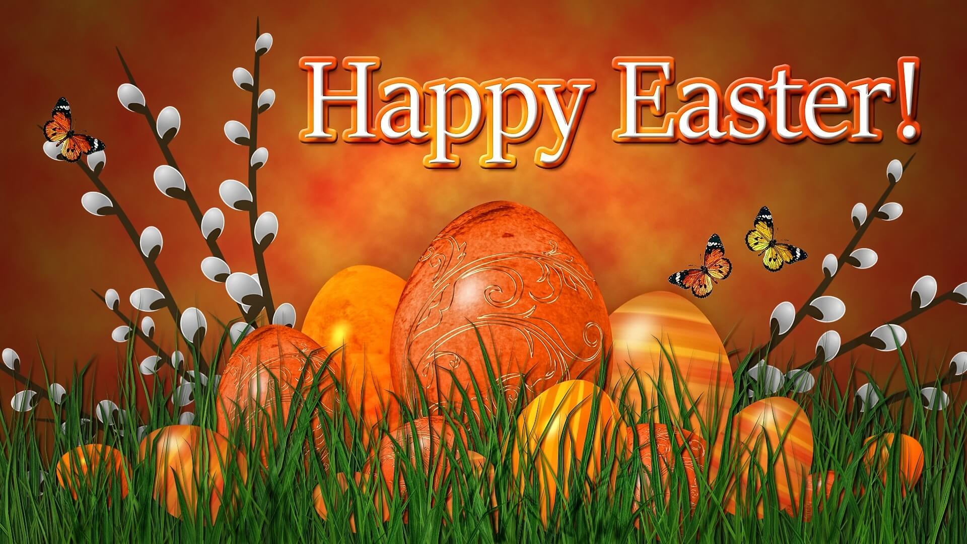 Easter free wallpaper 3D screensaver
