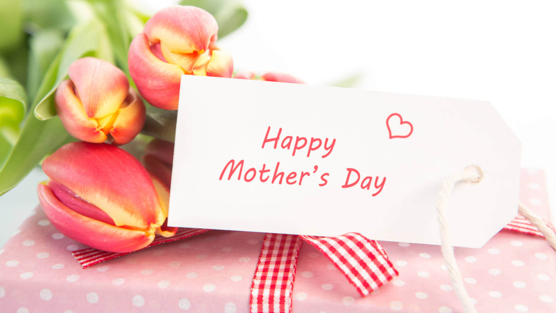 HD Happy Mothers day gift and flowers