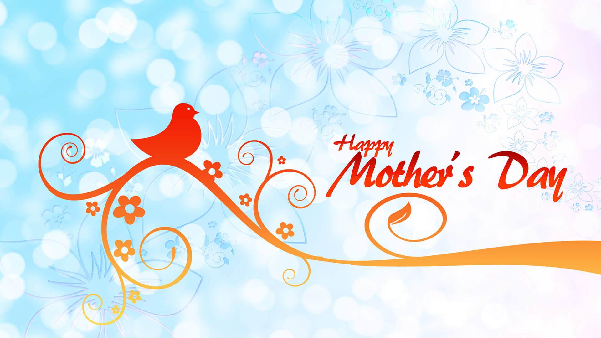 Happy HD Mother Day 1920x1080pixel vector