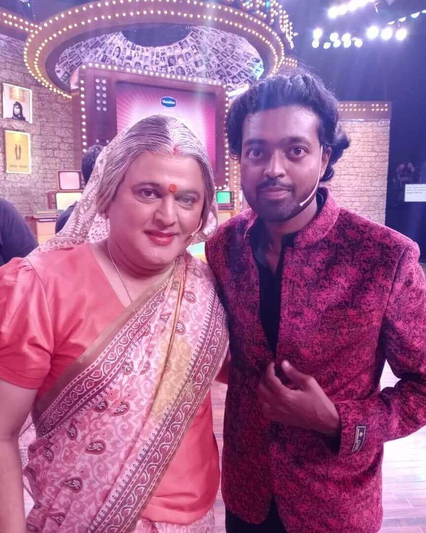 Image of Adarsh Anand with Ali Asgar
