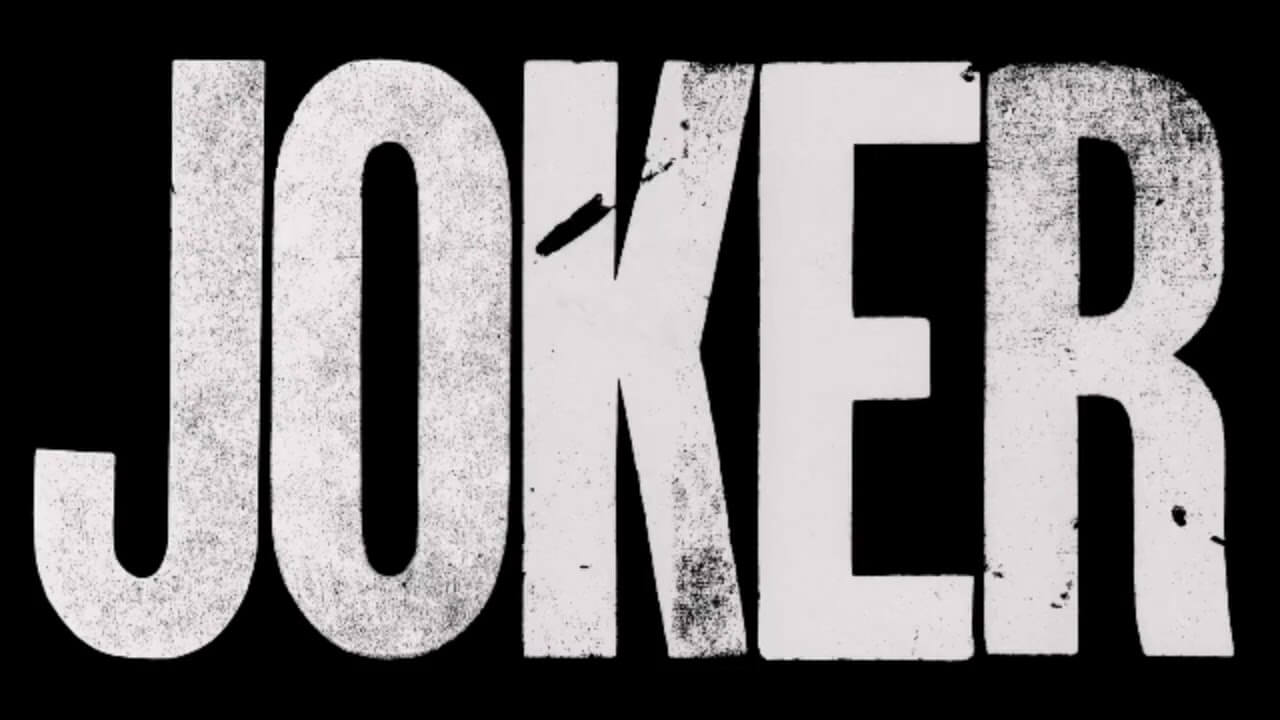 Joker black and white text picture
