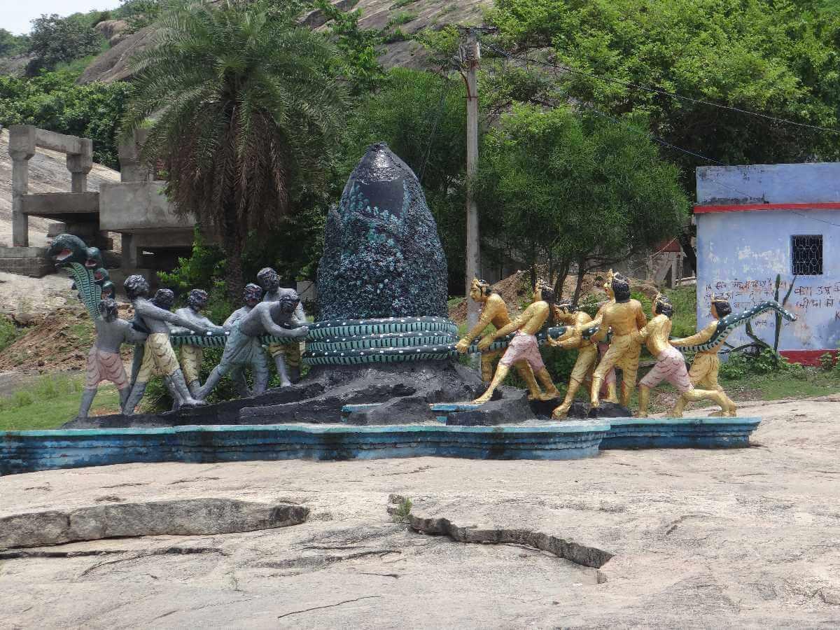 Mandaar Parvat samudra manthan photo