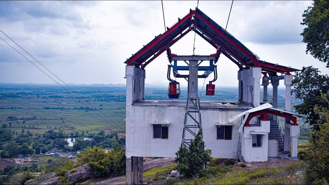 Mandar hill ropeway image