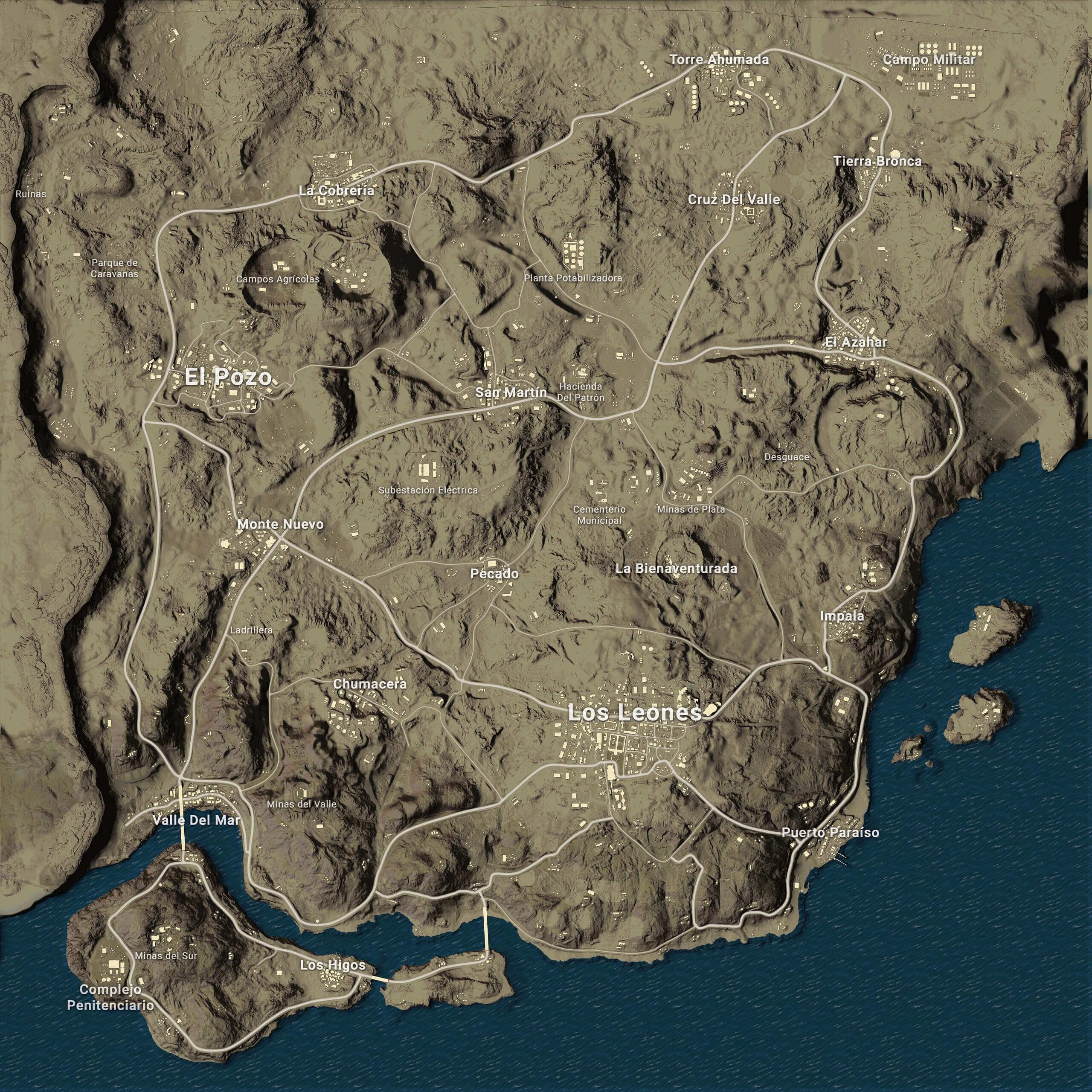 Miramar map pubg Full HD wallpaper