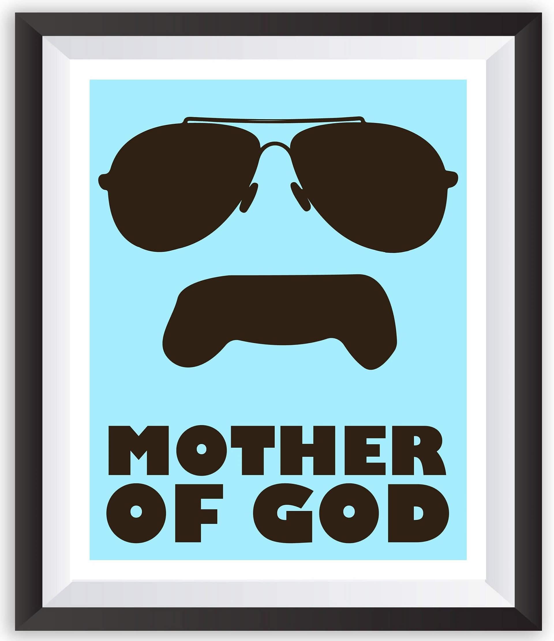 Mother of God meme HD Image 1920x