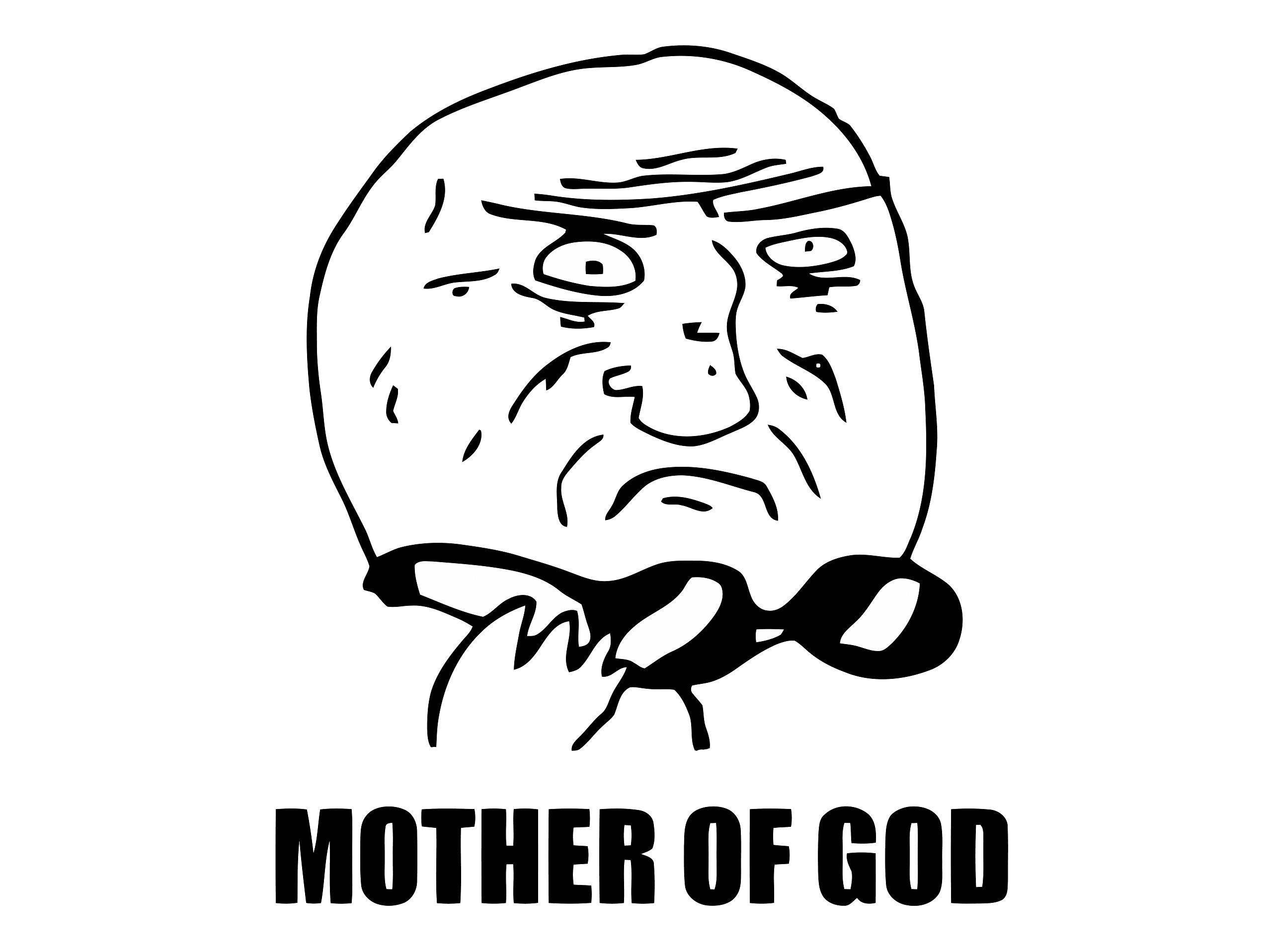 PNG Transparent Mother of God meme image