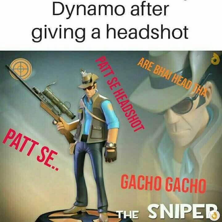 Patt se headshot dialogue by Dynamo after a headshot