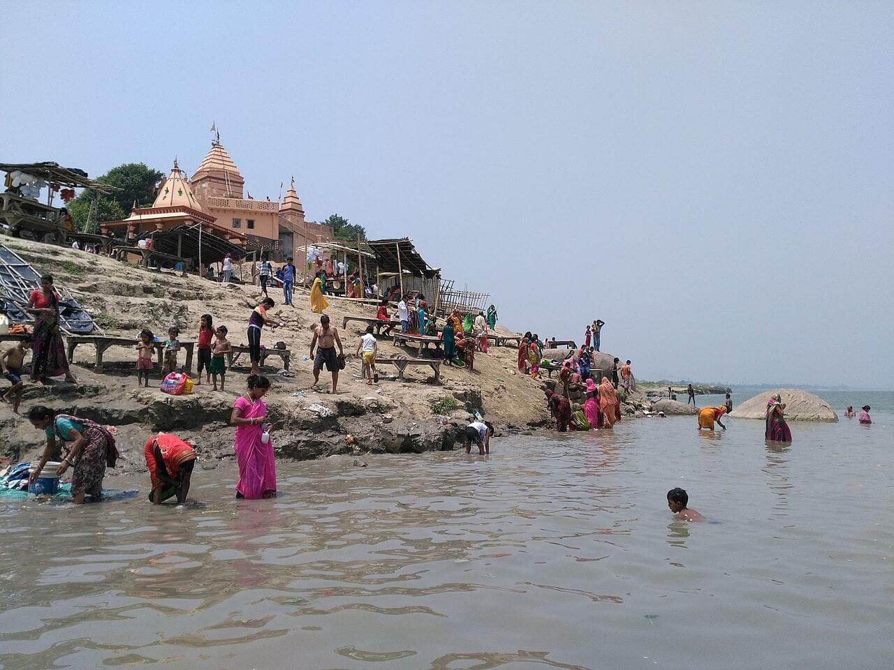 Picture of Ajgaibinath temple Sultan Ganj on Shores of Ganges