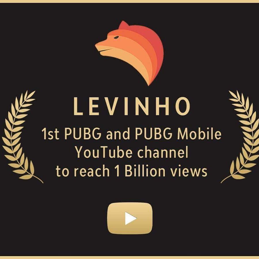 Picture of Levinho reached 1 billion views on YouTube