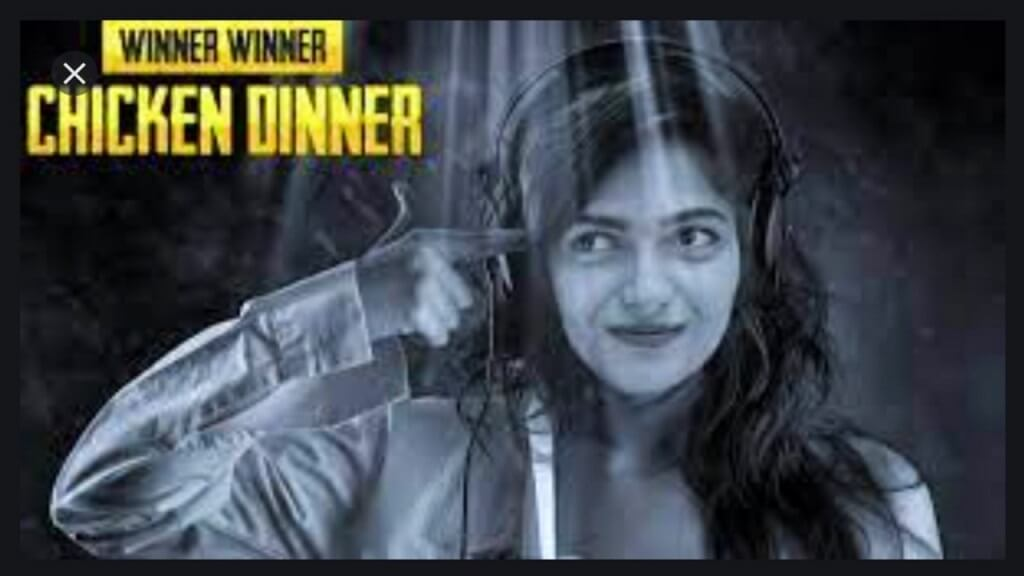 Pooja Khatri pubg image of winner winner chicken dinner