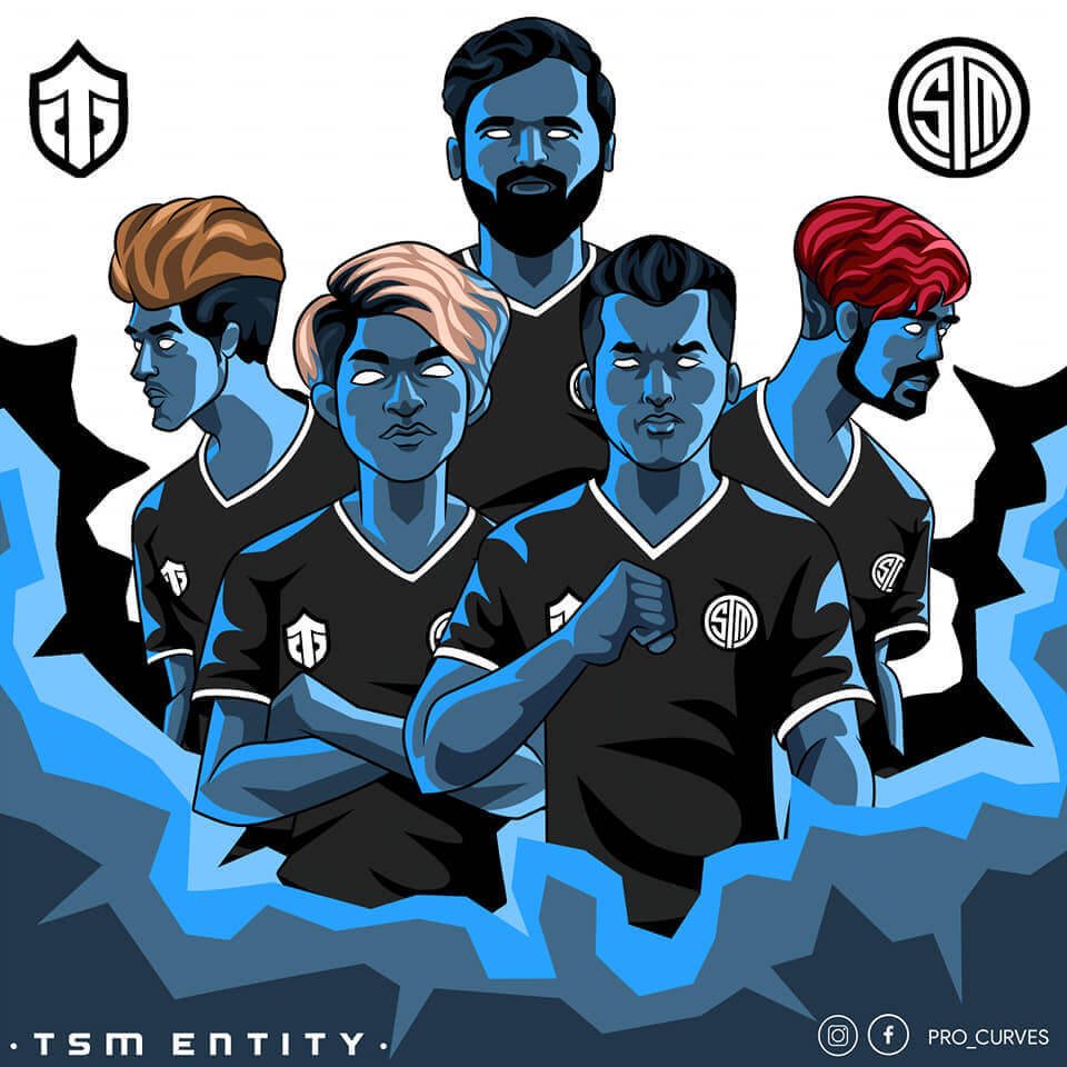 Pubg ClutchGod with Team TSM Entity animated picture