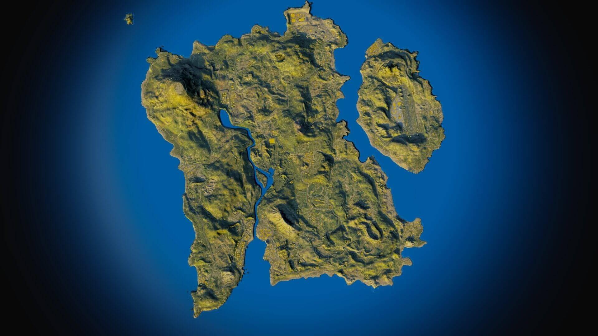 Pubg erangel map hd image download