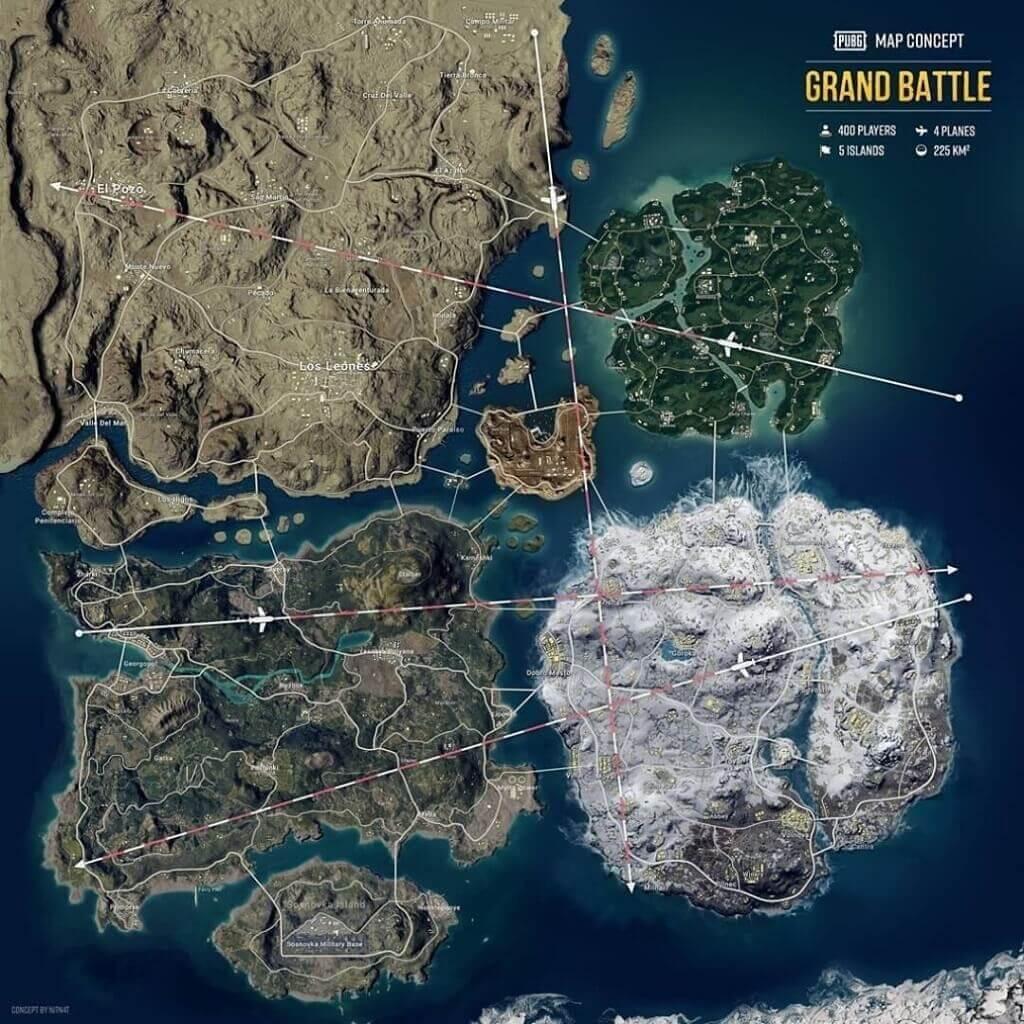 Pubg map concept