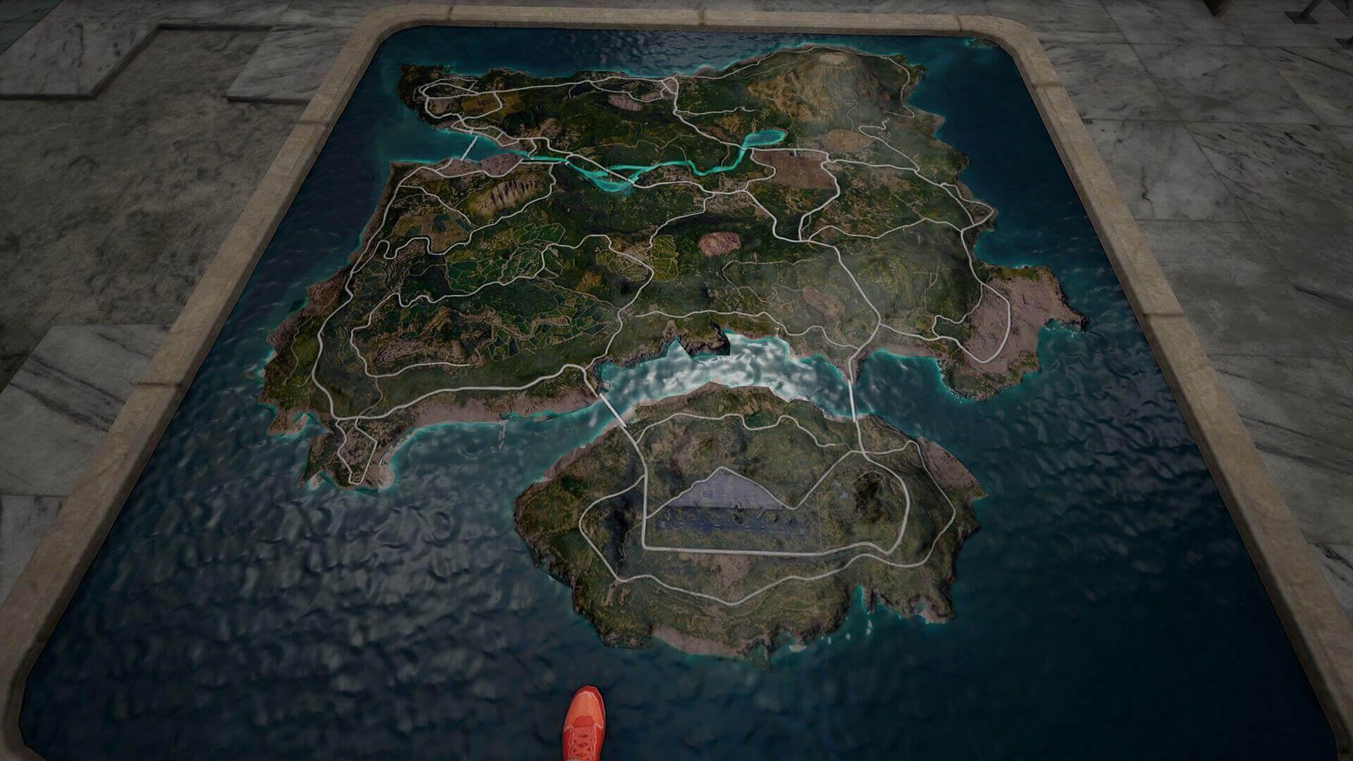 Pubg mobile erangel 2.0 map HD wallpaper in 3D
