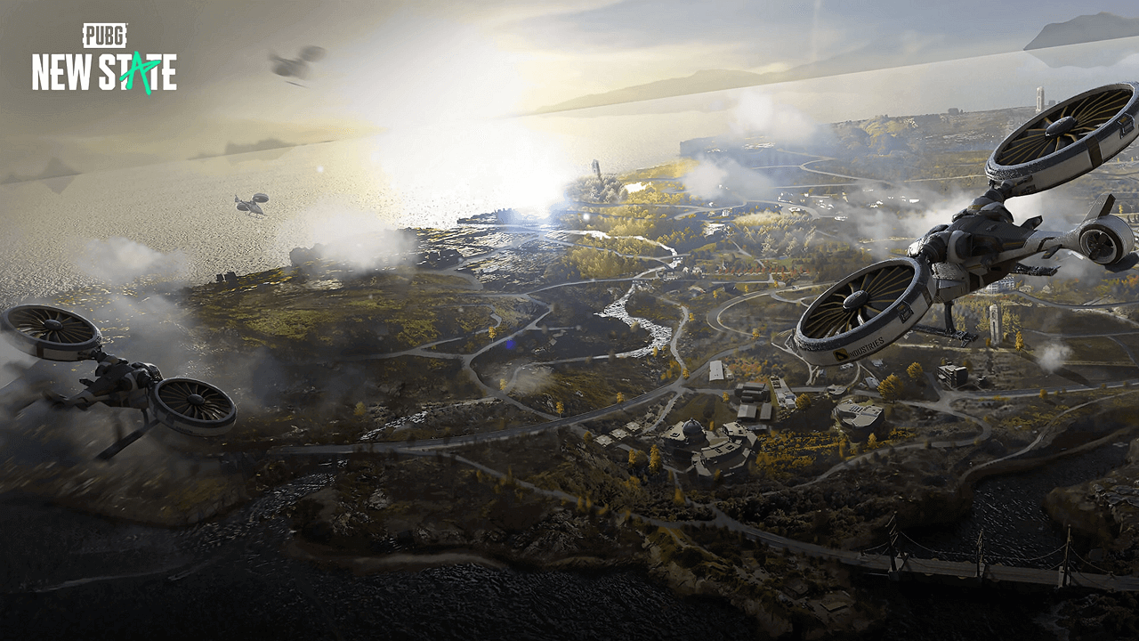 Pubg new state map picture