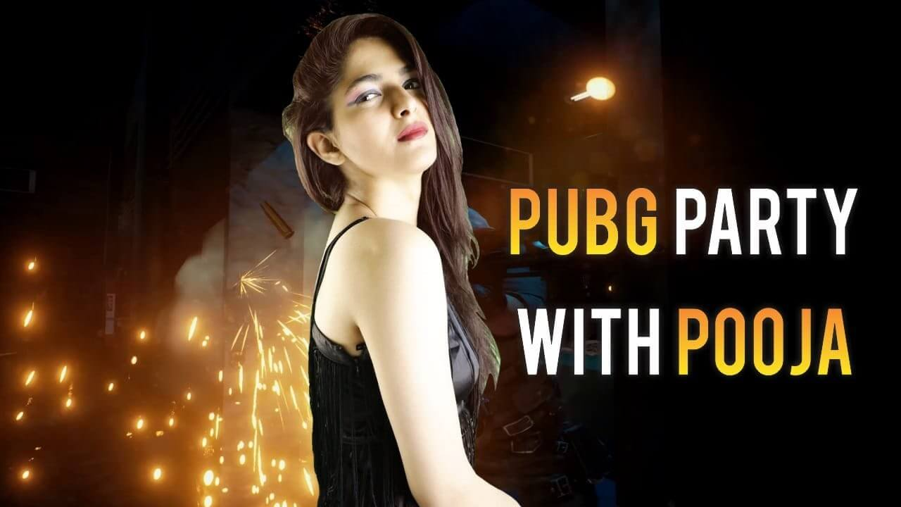 Pubg party with Pooja gaming image