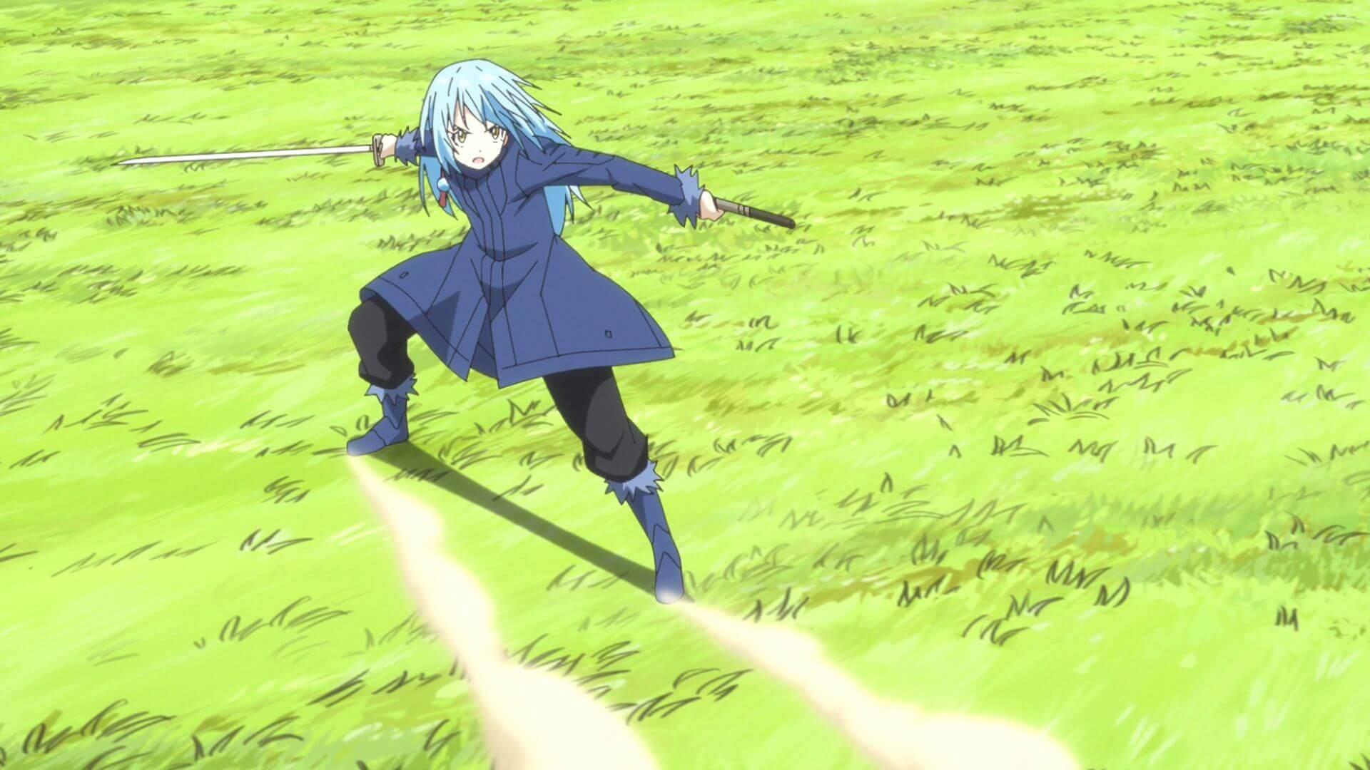 Rimuru Tempest fighting wallpaper in HD