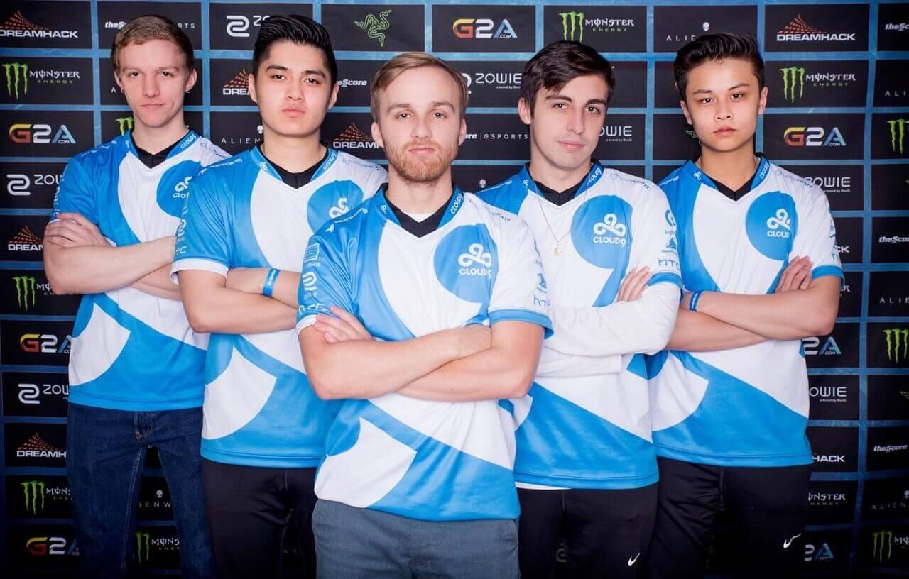 Shroud with Team Cloud 9