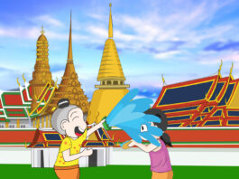 Songkran festival wallpapers in high quality