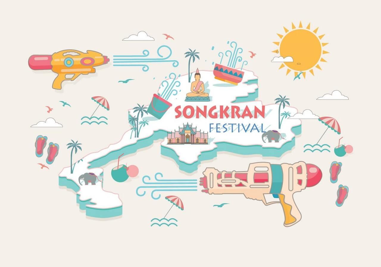 Songkran photos