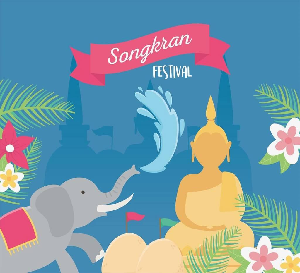 Songkran traditions image