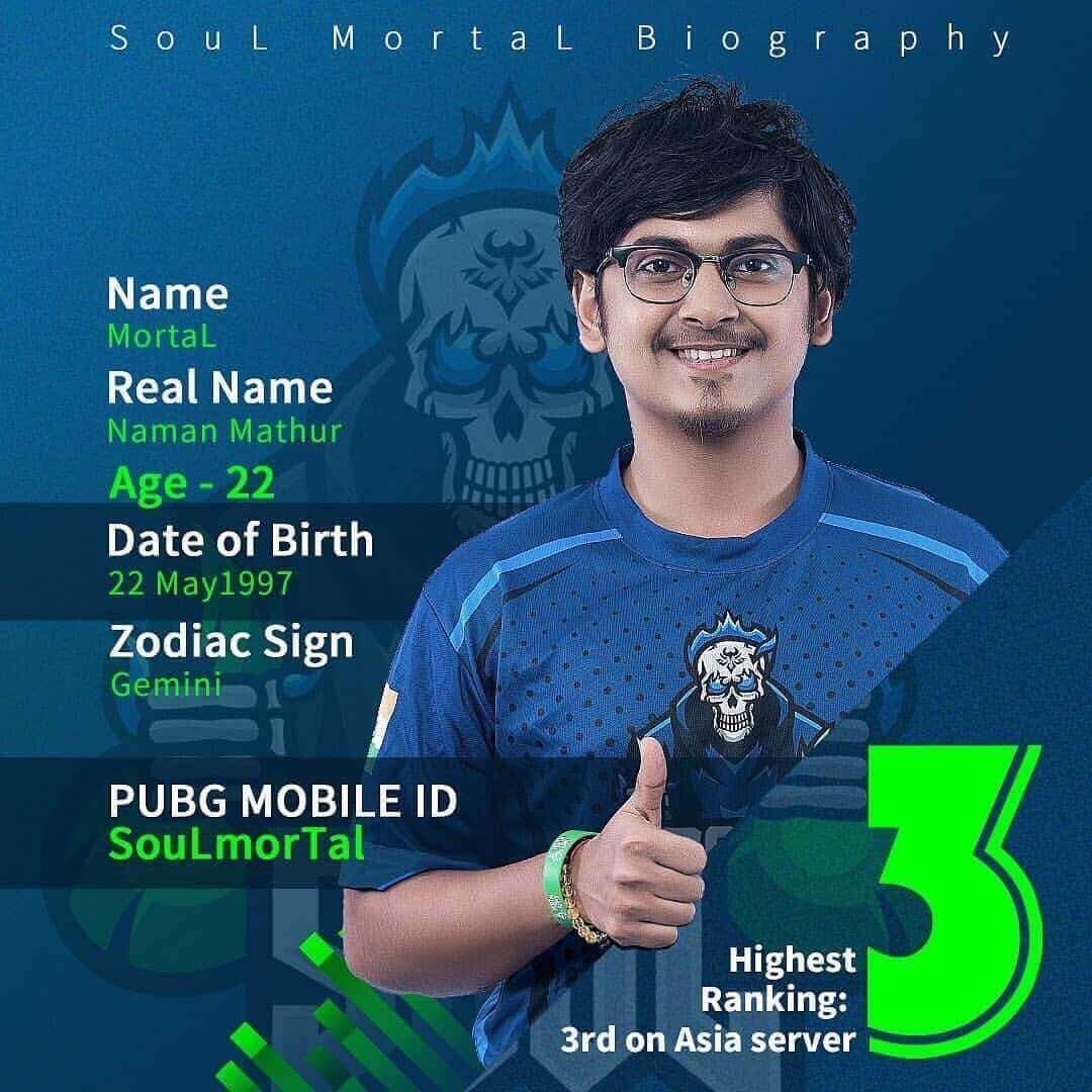 SouL MortaL Biography AKA Naman Mathur