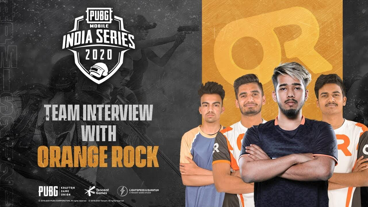 Team OR Orange Rock pubg mobile