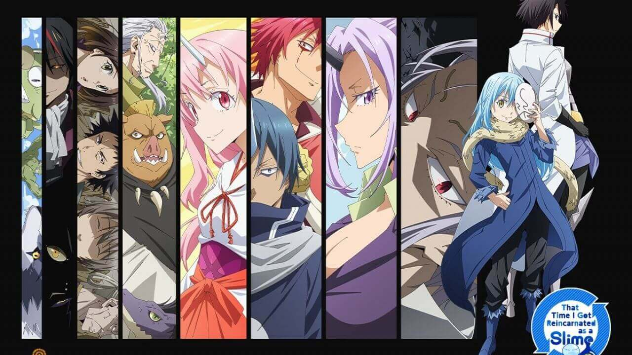 That Time I Got Reincarnated as a Slime Novel series pics