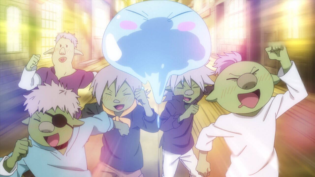 That Time I got Reincarnated as a Slime season 2 Episode 3 time to party