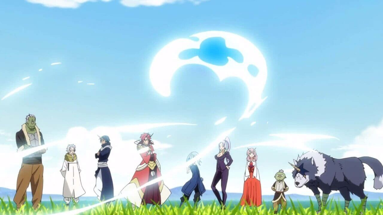 That time I got reincarnated as a slime desktop background