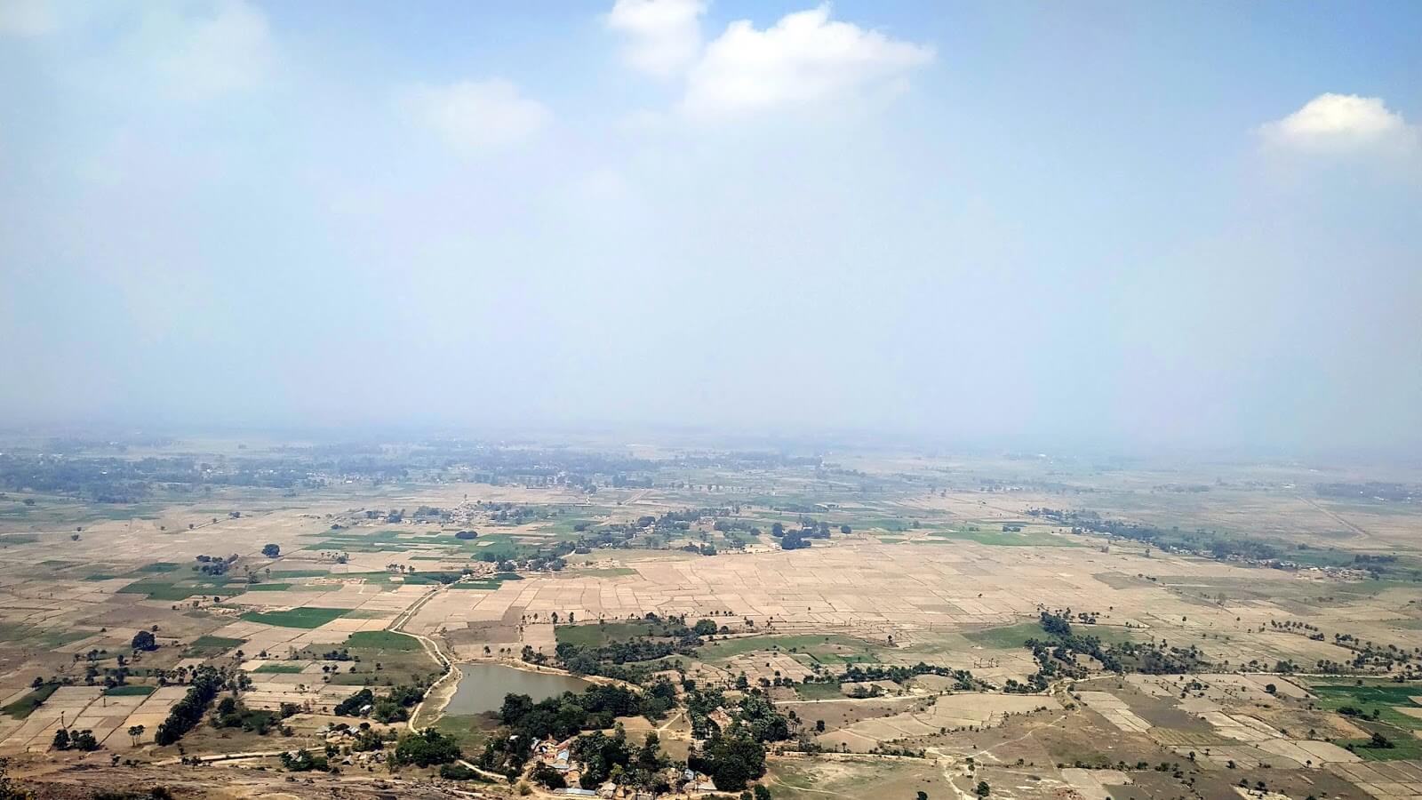 Top view from mandar hill wallpaper