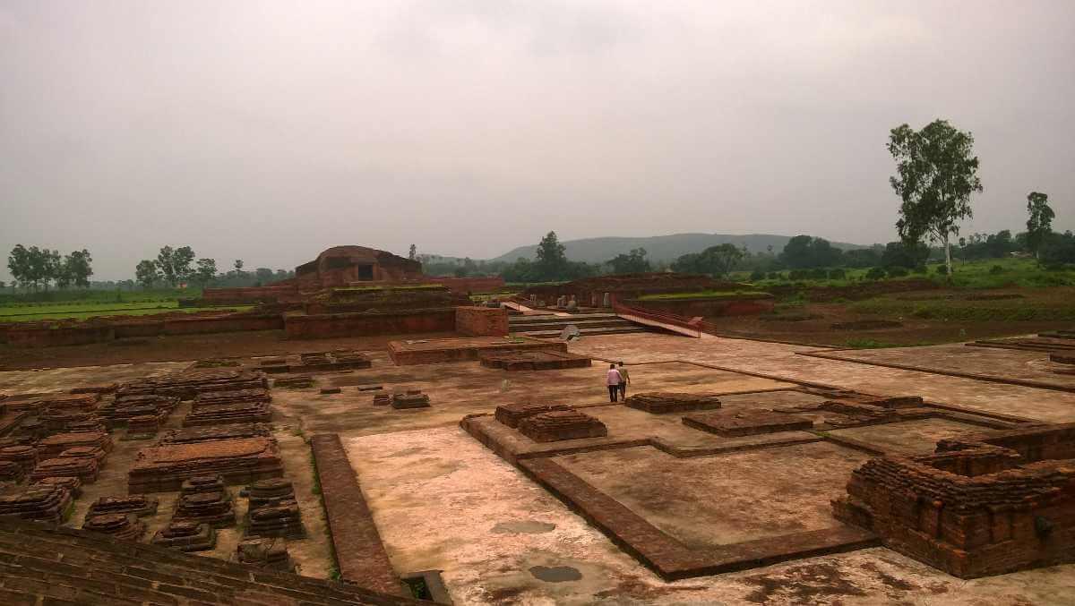 Vikramshila Mahavidyalaya ki photo