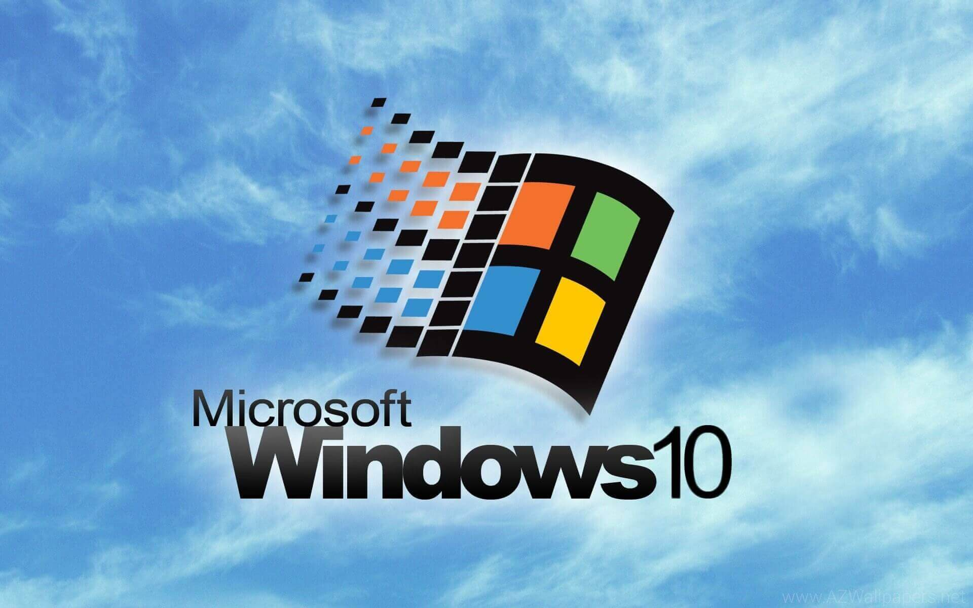 Windows 98 default wallpaper for windows 10