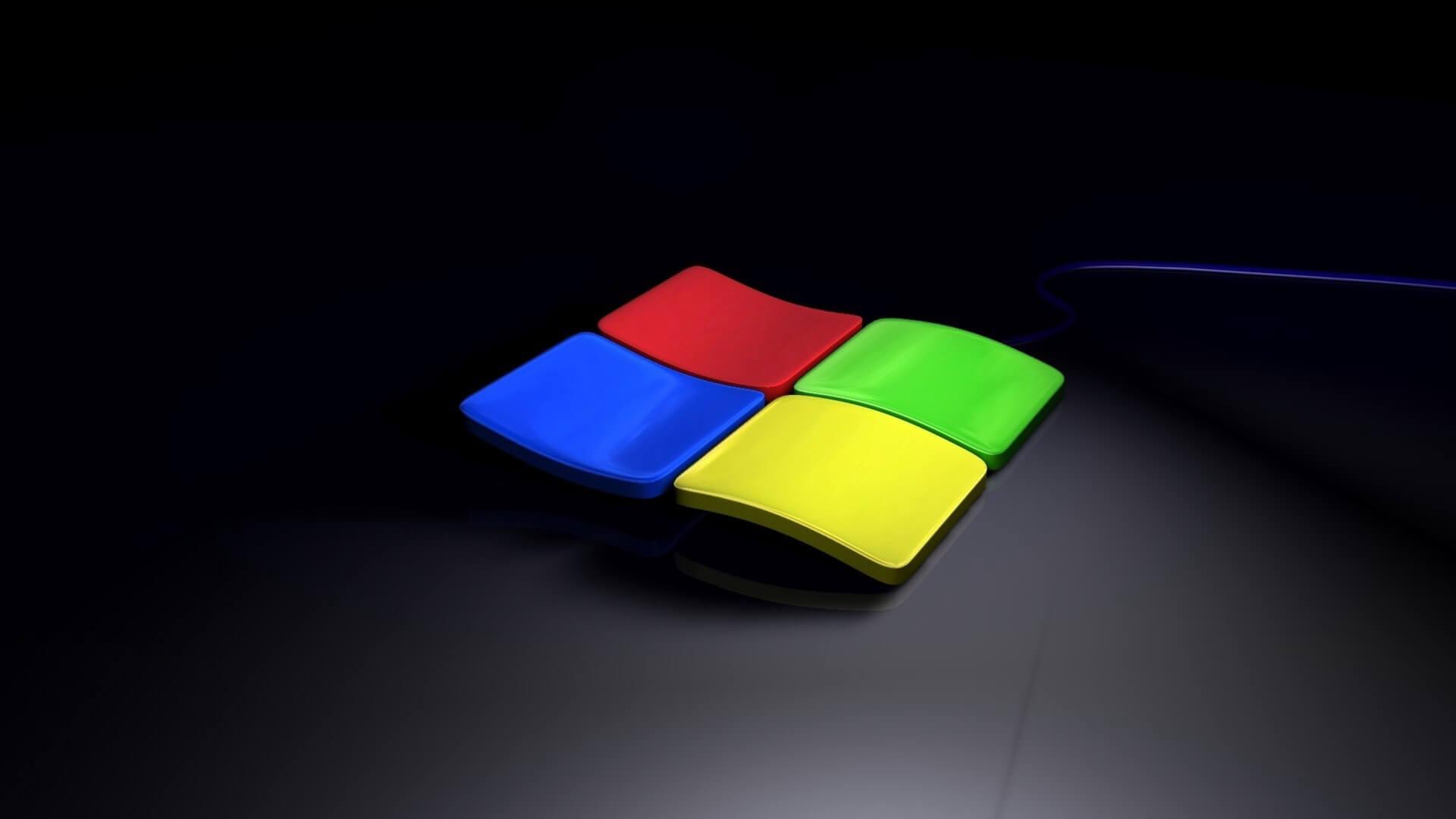 Windows Black Background Screen Saver 1920x1080