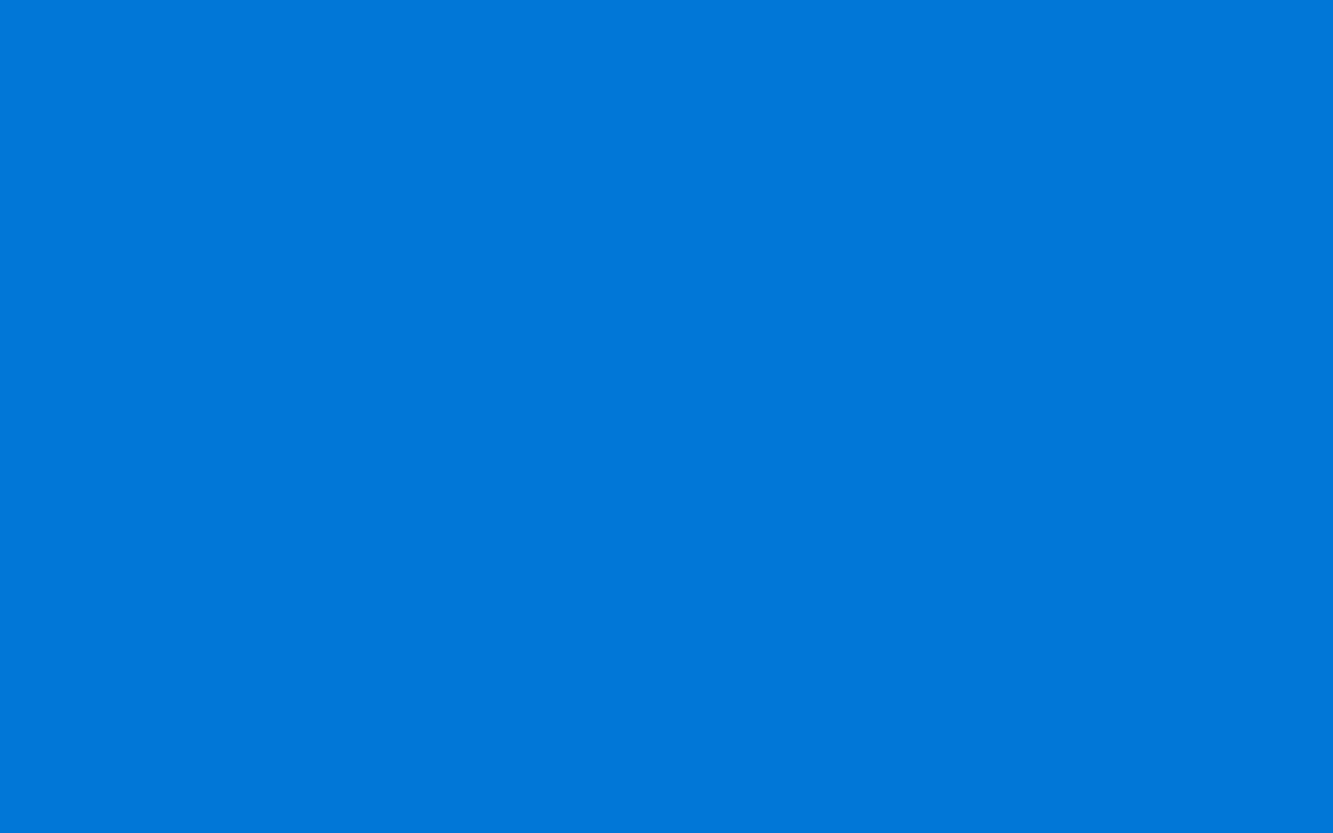 Windows plain blue background for computer