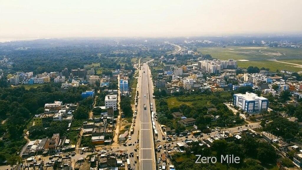 Zero Mile beautiful view Bhagalpur city wallpaper